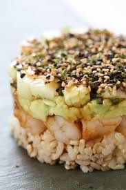 Image result for layered molds food rice