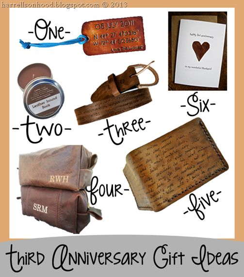 traditional anniversary gifts for him