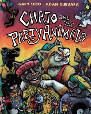 Chato and the Party Animals - câștigătorul anului 2002 pentru ilustrații Ilustrator: Susan Guevara Text: Gary Soto.