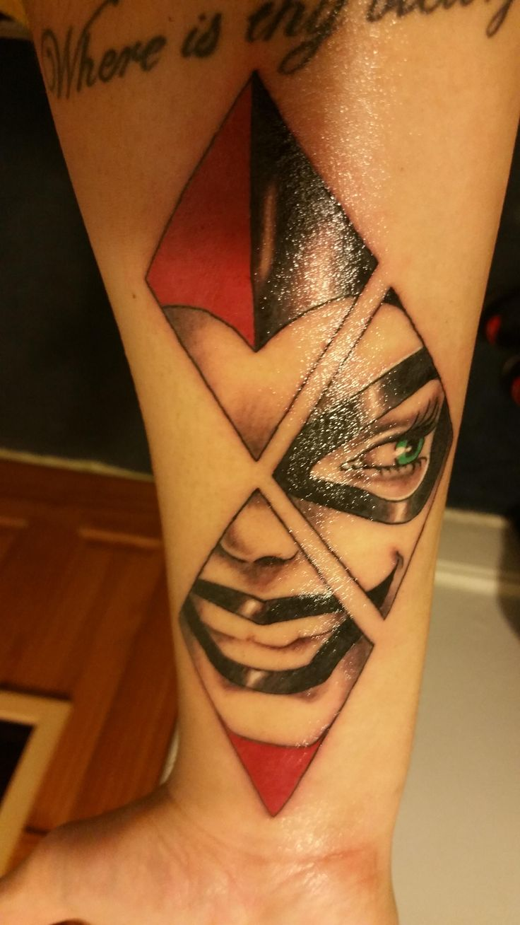 Harley Quinn by Natalia @ Beaver Tattoo NYC