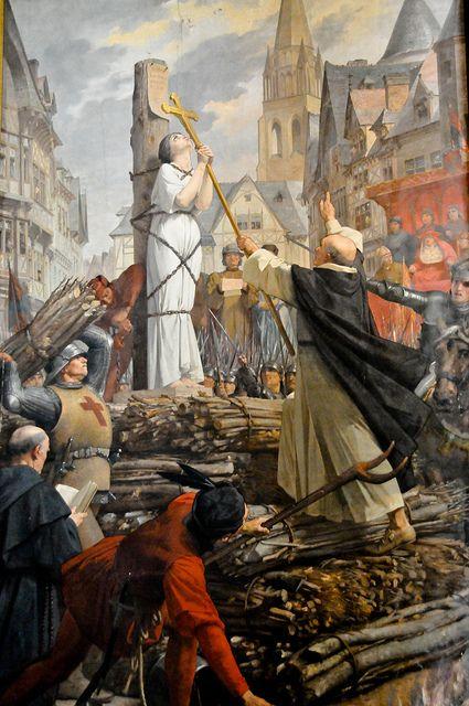 Joan of Arc mural at the Pantheon - Paris France | Flickr - Photo Sharing!