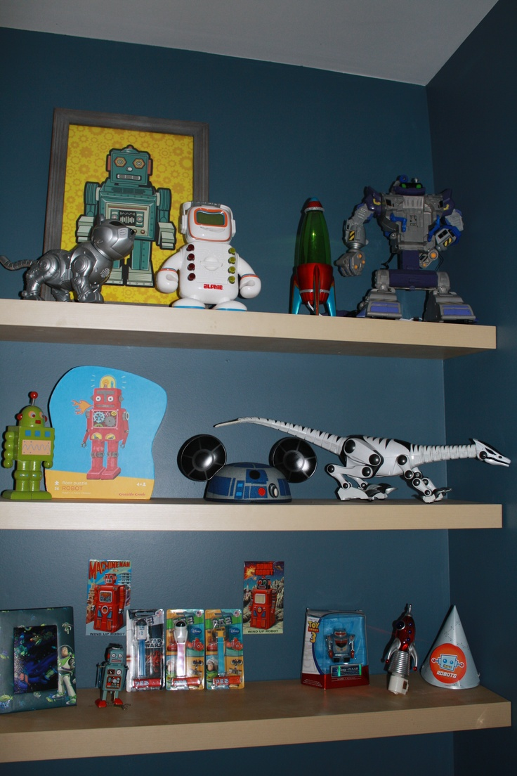 Retro Robot Room