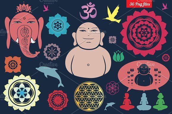 Unique symbols/png clipart/. Yoga #symbols