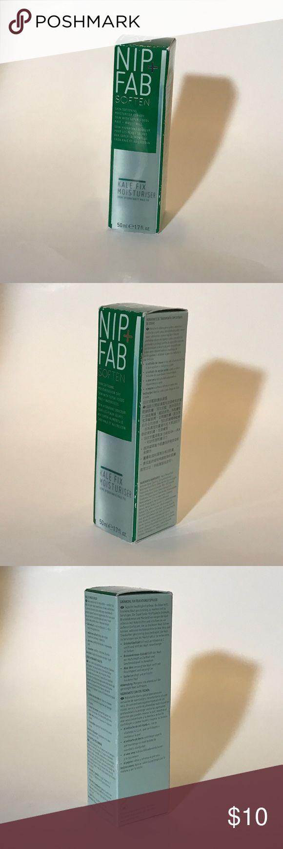 Nip + Fab SOFTEN Kale Fix Moisturiser 50ml e 1.7oz SKIN SOFTENING MOISTURISER FOR DRY SKIN WITH SUPER-FOODS KALE- WATERCRESS. CREME HYDRATANTE KALE FIX. Nip + Fab Makeup