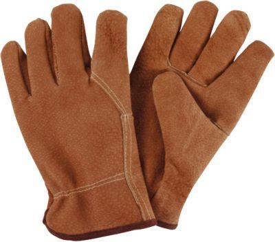 #Unisex #Schweinsleder #Gartenhandschuhe 2er #Set #braun Diese Gartenhandschuhe bestehen aus Schweinsleder und sind so von Natur aus atmungsaktiv und anpassungsfähig. Außerdem sind sie so besonders robust, sodass sich auch ohne Probleme Dornensträucher bearbeiten lassen. - aus Leder - robust und strapazierfähig Maße: - Länge: ca. 26 cm - Breite: ca. 14 cm Material: Leder