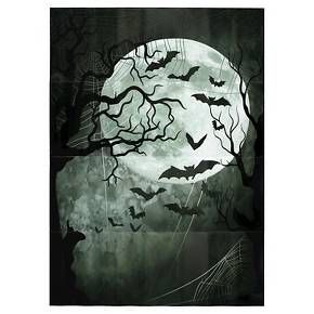 Halloween Photo Backdrop Wall-Art: Target, $5