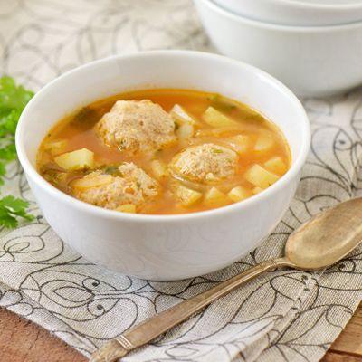 Sopa de Albóndigas de Pavo | Recetas de Nestlé | ElMejorNido.com