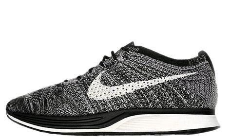 Few sizes left for the Nike Flyknit Racer Oreo. ift.tt/1fOhYS6