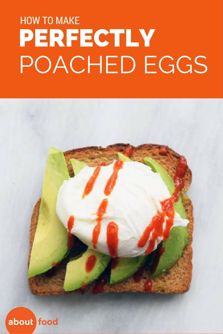 Learn how to make perfectly poached eggs in about two minutes! It's easier than you think to get that perfect avocado egg toast.