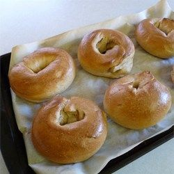 Real Homemade Bagels Allrecipes.com  Can't wait to try and convert this to a clean/organic version!