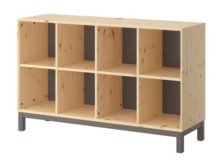IKEA NORNÄS — the solid wood EXPEDIT alternative for DJs - http://djworx.com/ikea-nornas-solid-wood-expedit-alternative-djs/