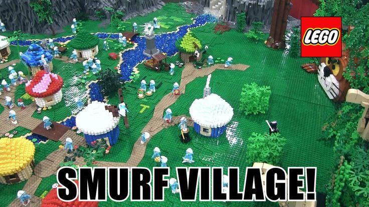 LEGO Smurfs Village MOC