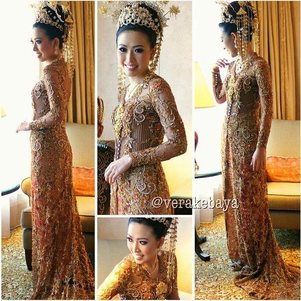 gold+brocade+wedding+kebaya+modern+kebaya+vera.jpg (612×612)