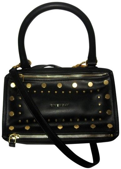 0f5ecaae7f Givenchy Pandora Small Studded Black Calfskin Leather Cross Body Bag. Get  the trendiest Cross Body Bag of the season! The Givenchy Pandora Small  Studded ...