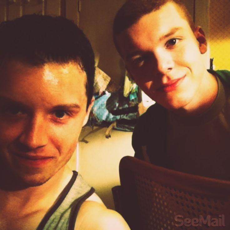 Noel Fisher (Mickey) & Cameron Monaghan (Ian) - Shameless