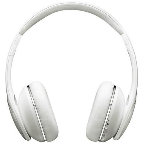 Samsung Level On Noise Canceling Wireless Headphones White - Front View