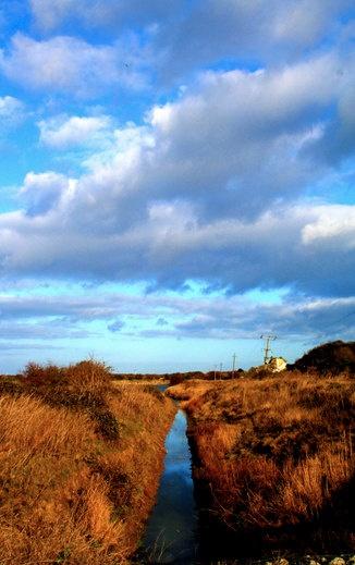 The river reflecting the sky by PopinjayPrints on Etsy, $17.00