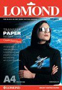 Lomond Thermotransfer Inkjet Paper A4/50 for Dark Fabrics Economy