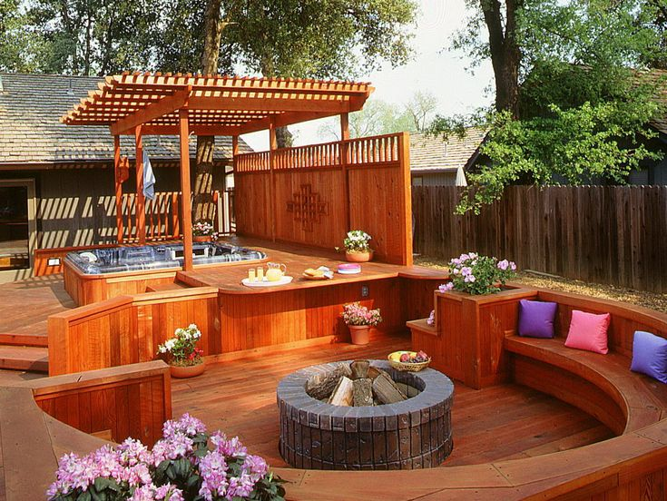 Small Deck Ideas With Hot Tub Home Design Ideas