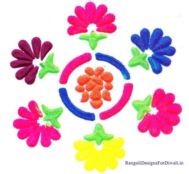 Muggulu new year 2015 colorful rangoli designs youtube - 25 Best Ideas About Simple Rangoli Images On Pinterest