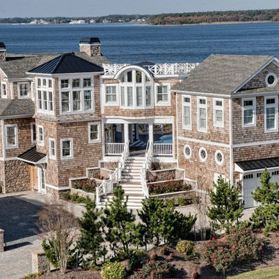 24 best cape cod style home exterior images on pinterest for Cape cod house remodel