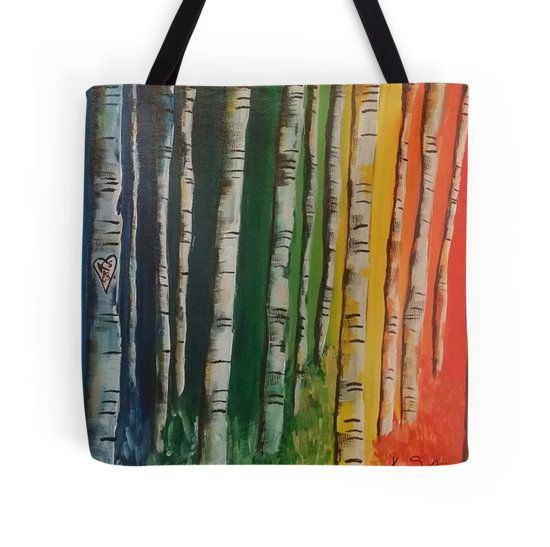 Kaz Art Creations Kaleidoscopic Birch Tree