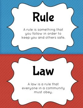 41 best images about rules and laws on Pinterest | Student ...