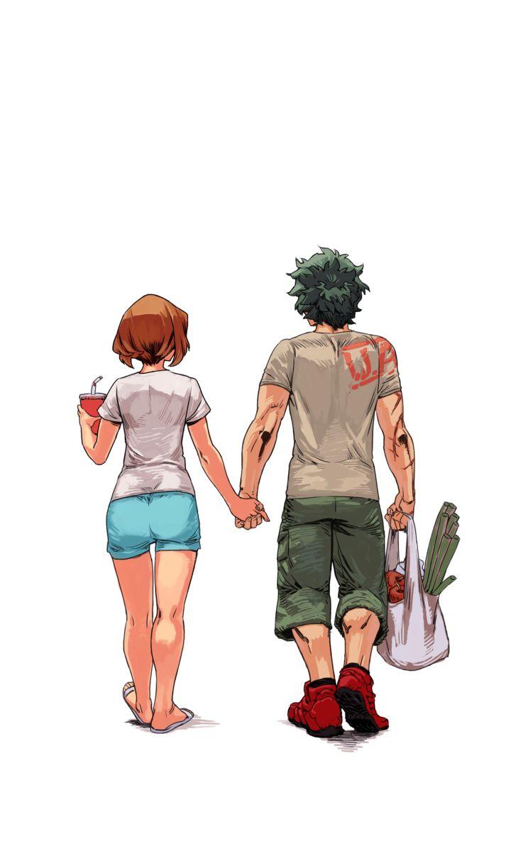 Boku no Hero Academia || Uraraka Ochako, Midoriya Izuku. (OchakoxDeku) Part2
