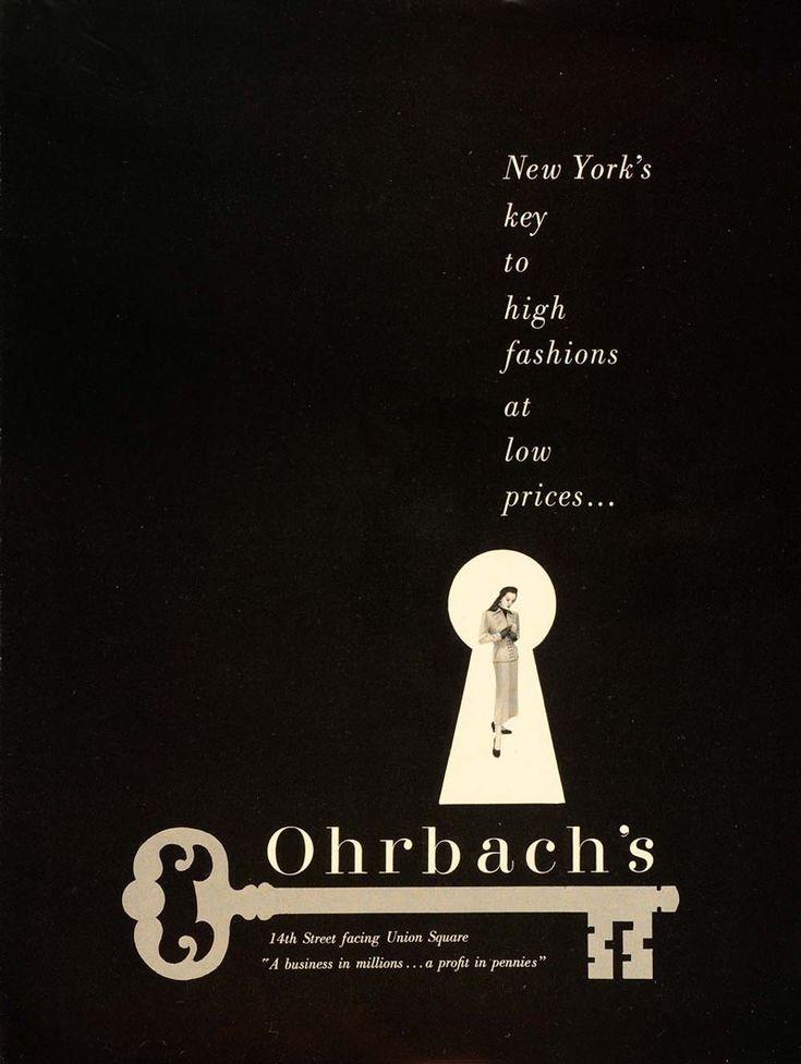 Paul Rand - Ohrbach's