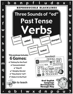 """Three Sounds of 'ed' Past Tense Verbs - - Re-pinned by @PediaStaff – Please Visit http://ht.ly/63sNt for all our pediatric therapy pins"