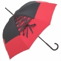 Designer-Regenschirm Chantal Thomass Anouchka Corsage rot