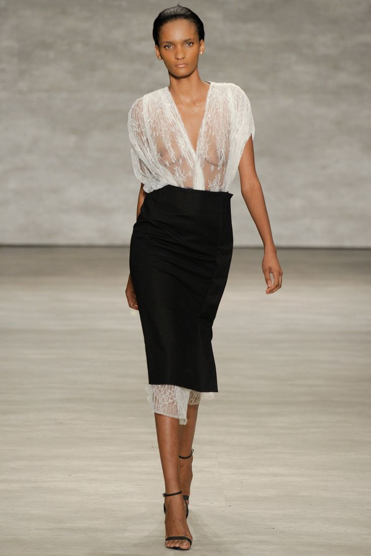 Tome Spring 2015 Ready-to-Wear Fashion Show - Rose Cordero