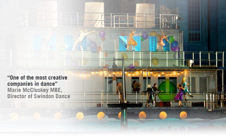 motionhouse Creative company, Swindon, Dance