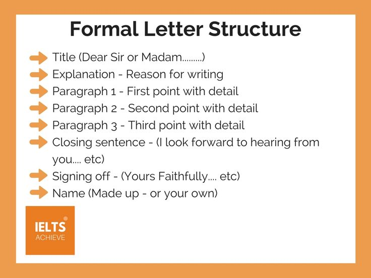 15 best IELTS General Training images on Pinterest - copy informal letter format exercise