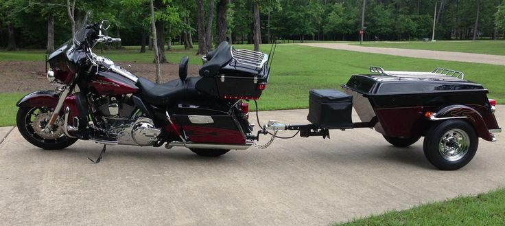Legacy Motorcycle Trailer | Cargo Motorcycle Trailer | Pull Behind Motorcycle Trailer | The USA Trailer Store
