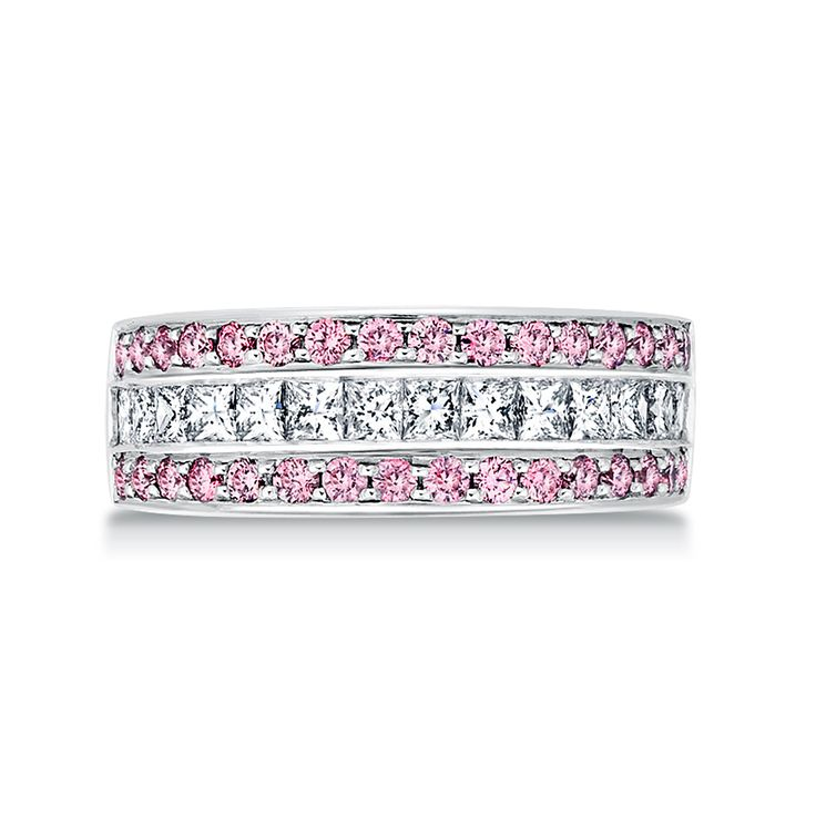 Pink #Argyle Celebration Ring | #paulbram #diamonds