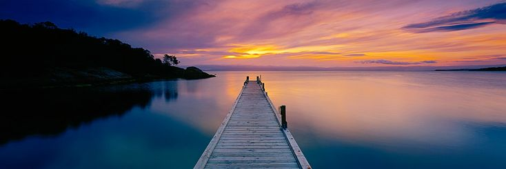 Coles Bay Jetty Photograph