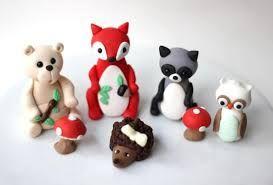 Inspiration for a Woodlands Cake, Novelty Cakes. www.sweetsecretsdubai.com