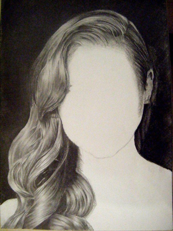 haj rajz - hair drawing