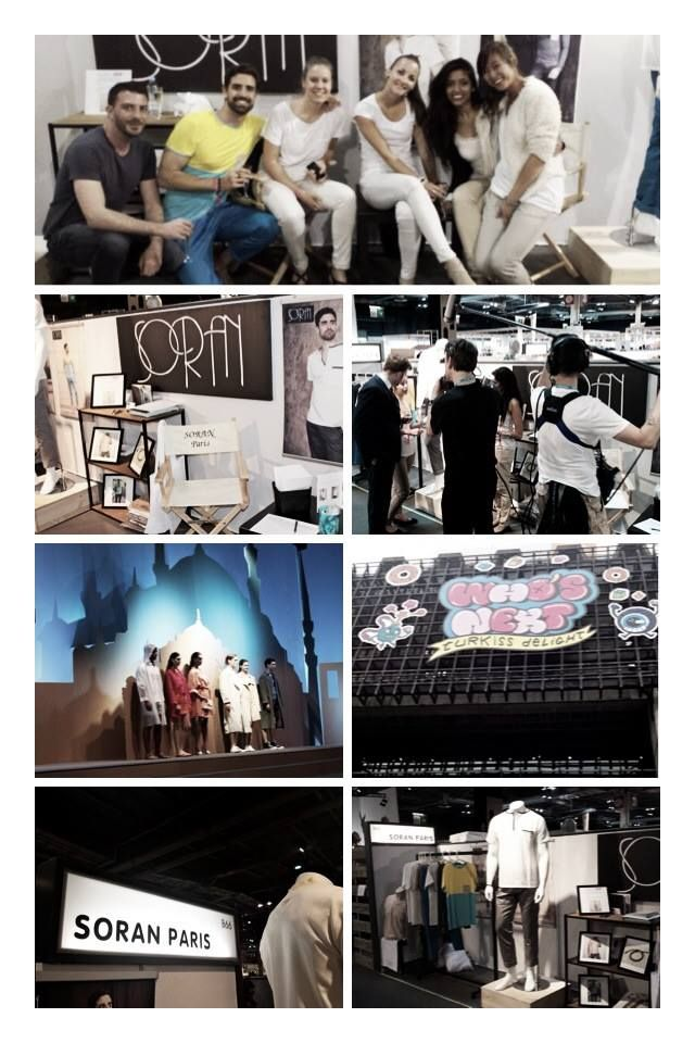 Le rendez vous de la mode : le Who's Next en Juillet 2014. Merci à toutes les personnes qui nous ont aidé sur ce salon