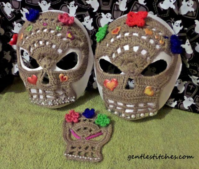 Mejores 96 imágenes de crochet skull en Pinterest | Bolsos, Cráneo y ...