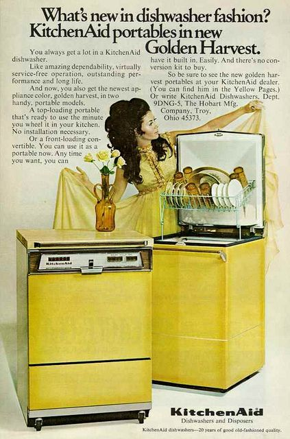 27 best 1970s kitchen - yellow images on Pinterest | 1970s kitchen ...