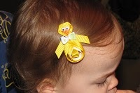 Duck and Bunny Hair Clip Tutorials - I think you would LOVE to do these for the bug! Her birthday issss coming up!<3 Oh my gosh, a year already!!! @Ricki Debolt