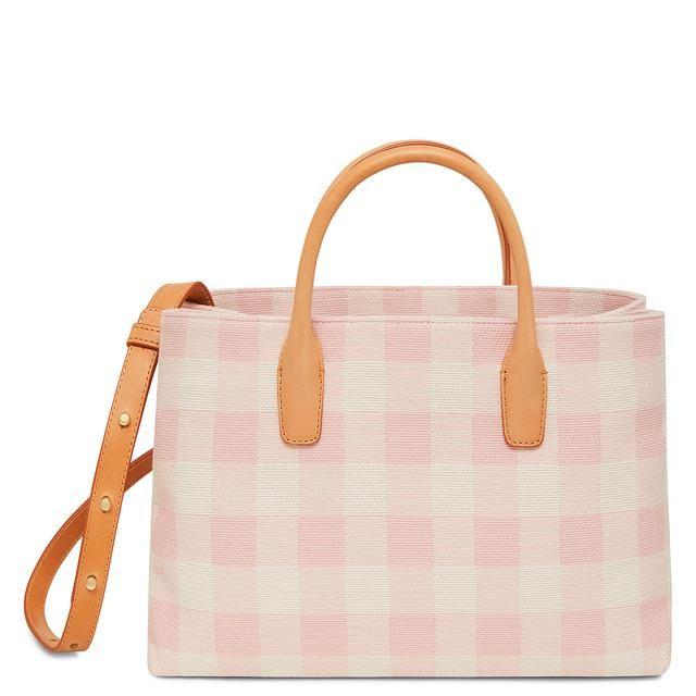 Mansur Gavrie Check Elegant Tote Bag - Only One Size / Multi Mansur Gavriel Buy Cheap Manchester New Arrival Cheap Online SQlXnMZbk
