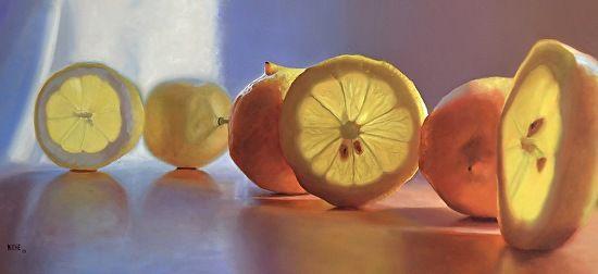 Summer Lemons by Scott Kiche was awarded the The BoldBrush Award in the September 2013 BoldBrush Painting Competition.