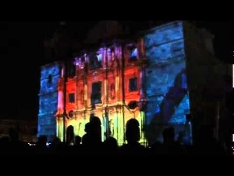 Luces de navidad en catedral de oaxaca 2011 parte 3 de 3 - Luces de navidad ...