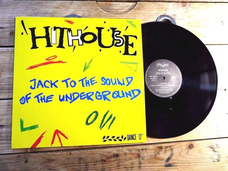 HITHOUSE JACK TO THE SOUND OF THE UNDERGROUND 45T VINYLE NO LP EX COVER EX