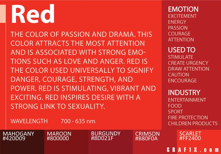 The 25 Best Color Red Meaning Ideas On Pinterest Red