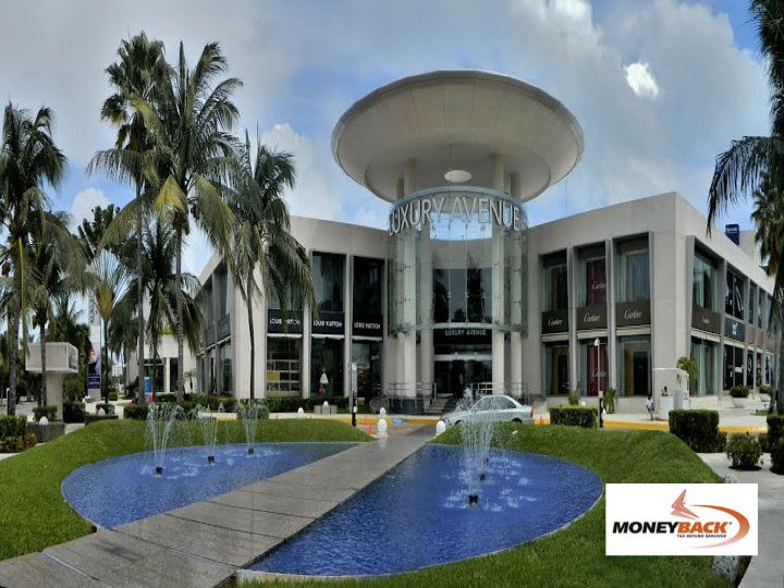 #moneyback  #taxrefund #travelmexico MONEYBACK. TAX REFUND FOR TOURISTS IN MEXICO. When visiting the Caribbean jewel, Cancun, and in the mood for shopping, look for the shopping malls: La Isla, Plaza Kukulcan or Plaza Caracol where you'll find many Moneyback affiliated businesses. www.moneyback.mx