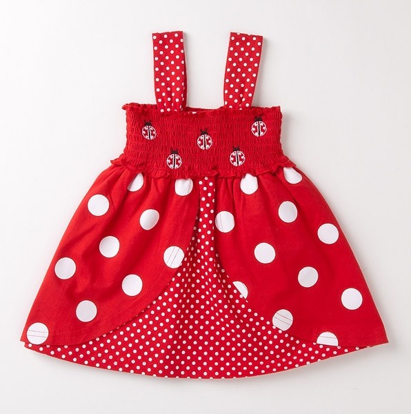 This is one of my favorites on totsy.com: Toddler Smocked Ladybug Dress